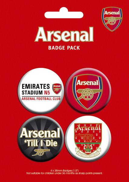 Badges ARSENAL - pack 2