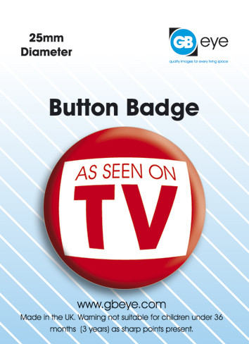 As seen on TV Badges