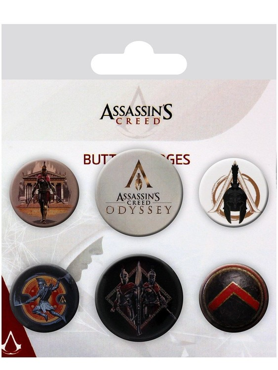 Assassin's Creed Odyssey - Mix Badge Pack