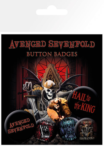 AVENGED SEVENFOLD – hail to the king Badge Pack