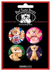 Badges BAD TASTE BEARS - Risque