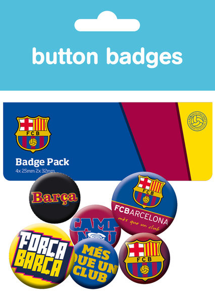 Badge set Barcelona - Crest