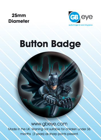 Batman City Badge