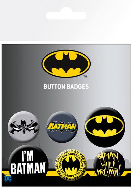 Batman - Comics Badge Pack