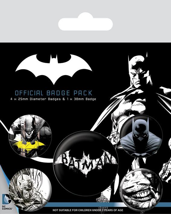 Batman - Dark Badge Pack
