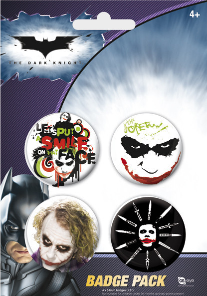 BATMAN - The Joker Badge Pack