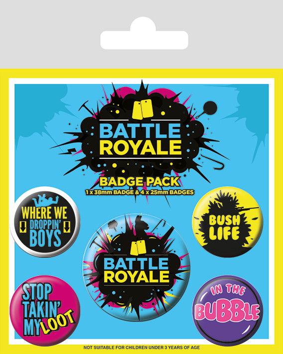 Battle Royale - Infographic Badge Pack