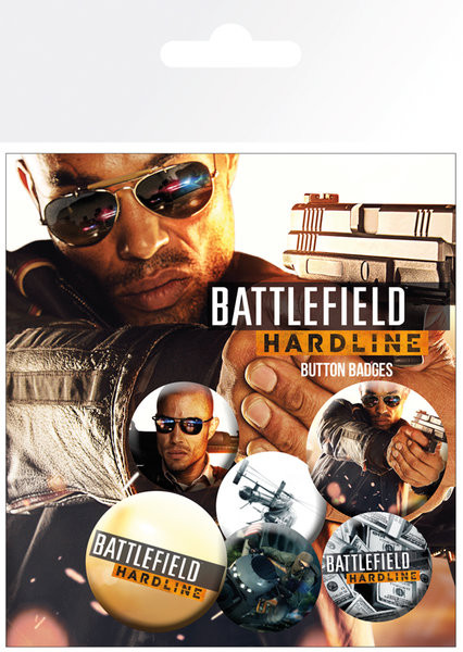 Battlefield Hardline - Soldiers Badge Pack