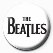 BEATLES (BLACK LOGO) Badges
