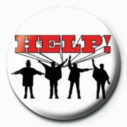 BEATLES (HELP) Badges
