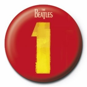 BEATLES - number 1 Badge