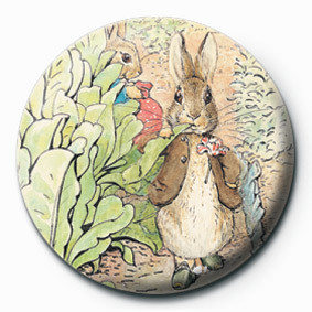 BEATRIX POTTER (BENJAMIN) Badges