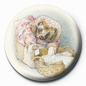 BEATRIX POTTER (MRS TIGGY) Badges