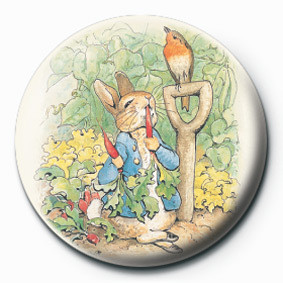 BEATRIX POTTER (PETER RABB Badge