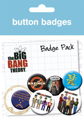 BIG BANG THEORY Badge Pack
