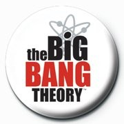 BIG BANG THEORY - logo Badge