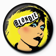 BLONDIE (PUNK) Badge