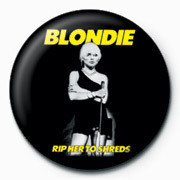 BLONDIE (RIP HER) Badges