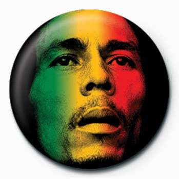 Bob Marley (Face) Badges