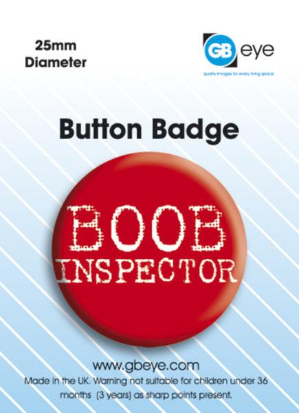 Boob Inspector Badges