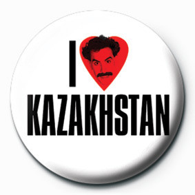 BORAT (I LOVE) Badge