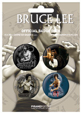 BRUCE LEE Badge Pack