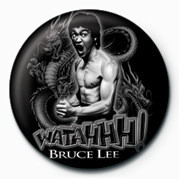 BRUCE LEE - WATAHH! Badges