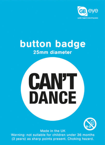 Can't Dance Badge