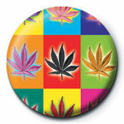 CANNABIS POPART Badges