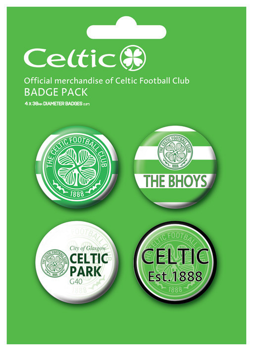 CELTIC Badge Pack