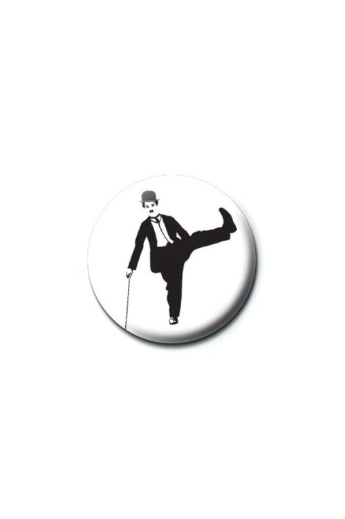 CHARLIE CHAPLIN Badges