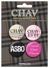 CHAV Badge Pack