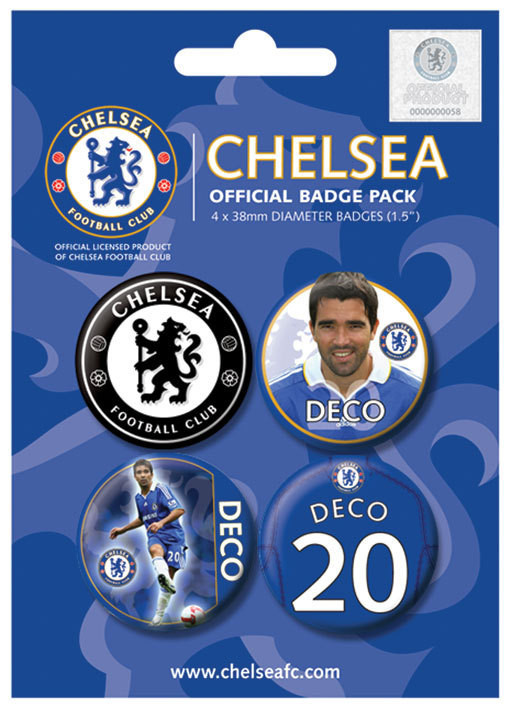 CHELSEA - deco Badge Pack
