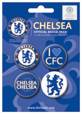 CHELSEA FOOTBALL CLUB Badge Pack