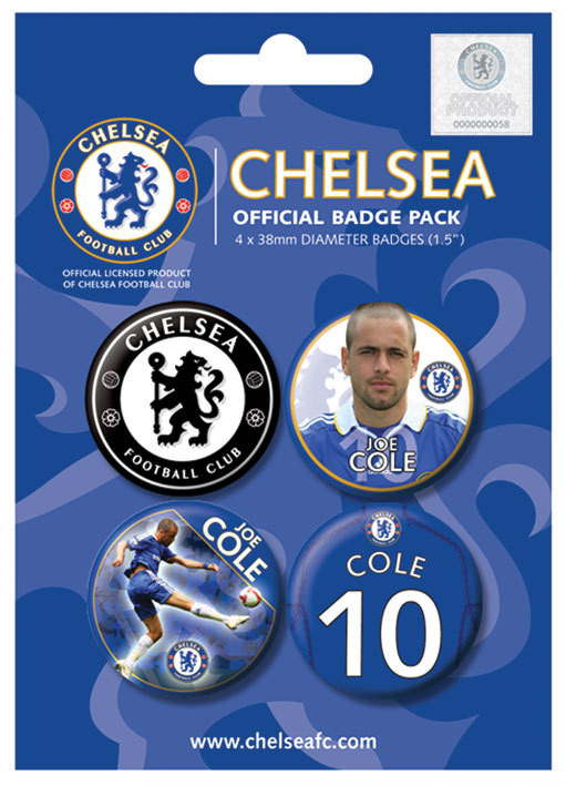 CHELSEA - j. cole Badge Pack