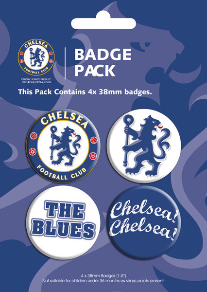 Badges CHELSEA - pack 1