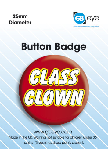 Class Clown Badges