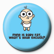 D&G (BABY FAT) Badge