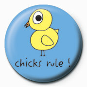 D&G (CHICKS RULE) Badge