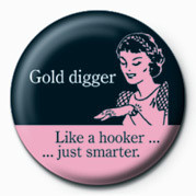 D&G (GOLD DIGGER Badges