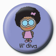 D&G (LIL' DIVA) Badges