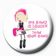 D&G (My Band Is Louder) Badge