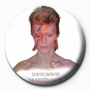 DAVID BOWIE (ALADDIN SANE) Badge