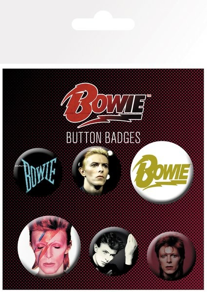 David Bowie - Mix Badge Pack