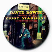 David Bowie (Stardust) Badge
