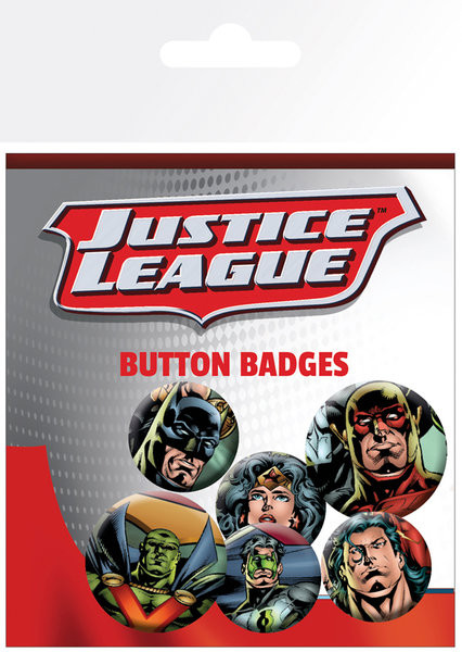 Badges DC Comics - Justice League - League