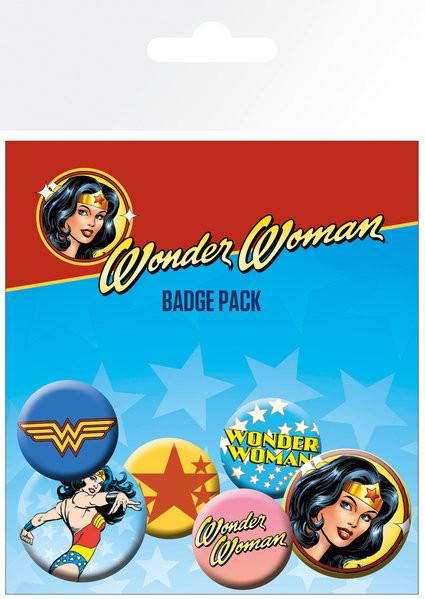 DC Comics - Wonder Woman Badge Pack