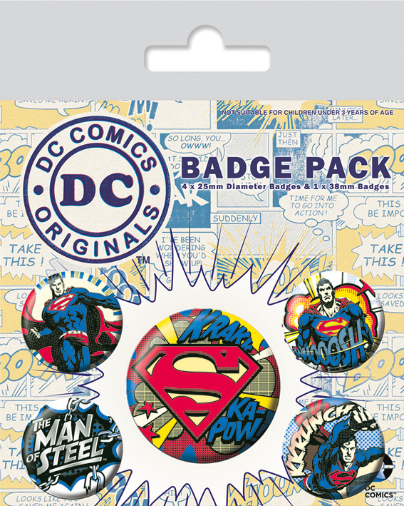 DC Originals - Batman Comic Badge Pack
