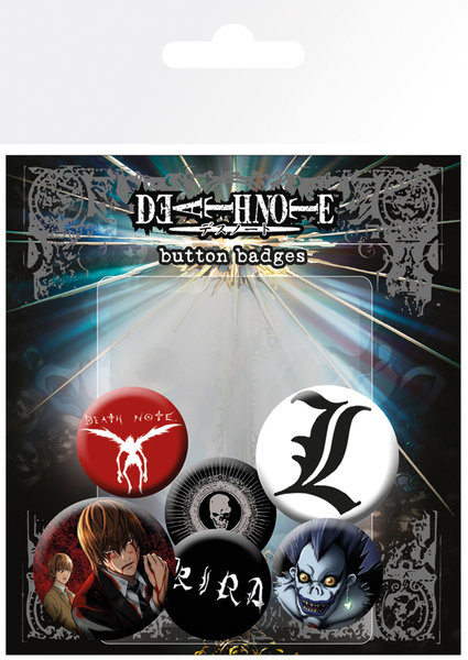 DEATH NOTE - Mix Badge Pack