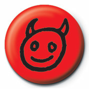 DEVIL FACE Badge